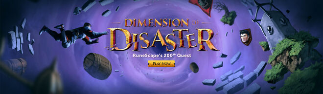Dimension of Disaster banner