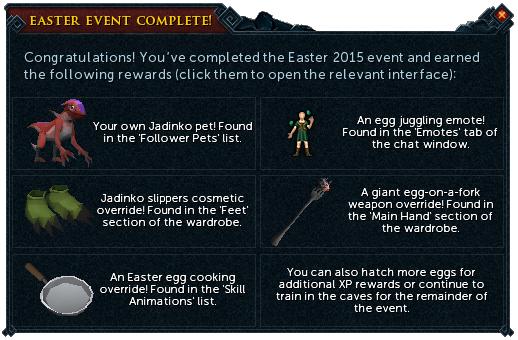 Evento de Pascuas 2015 - Recompensas