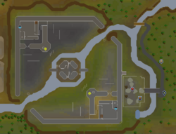 Guerra de los castillos mapa