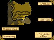 Ourania Altar Location