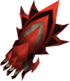 Garra de dragón detallada