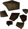 Mena de hierro detallada