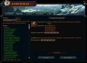 Aventuras - Misiones