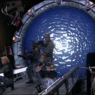 Azul Camo SG-1 a partir de una realidad