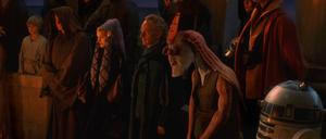 Mourning Qui-Gon
