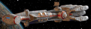 Capital corellian corvette