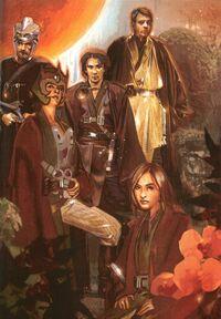Luke with Jedi