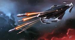 RaiderClassCorvetteMissileBarrage-Armada