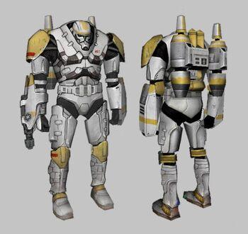 Soldado clon ígneo