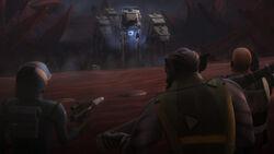 Capt. Rex, Zeb vs AT-ATs