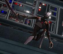 Droid commando sword