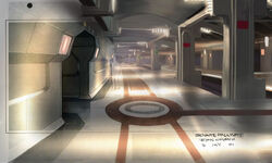 Senate hallway concept