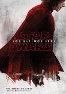 Adam Driver Kylo Ren Los Últimos Jedi Poster Teaser