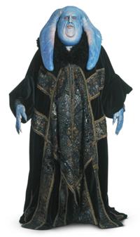 Orn Free Taa wearing Coruscanti robes