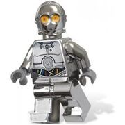 LEGO C-3PO (cubierta plateada)