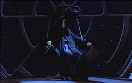 Emperador en trono.