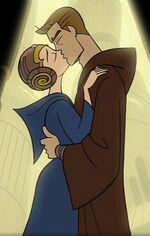 Padme & Anakin on Coruscant