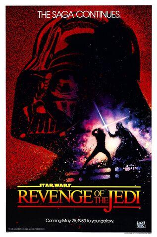 Archivo:Revenge of the jedi poster.jpg