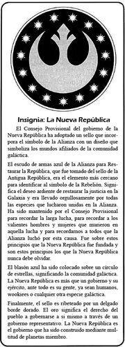 Insignia Nueva República