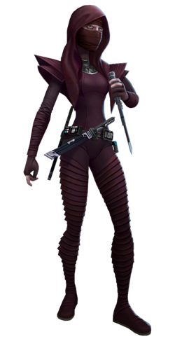 Assassin Deathstick Render