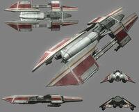 Rihkxyrk Heavy Starfighter