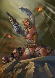Mercenary captain