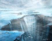 Orto Plutonia concept art canyon