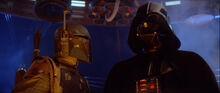 Darth Vader y Boba Fett