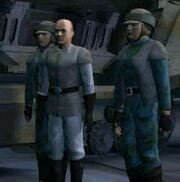 Taskeen con soldados