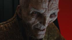 Supreme Leader Snoke TLJ
