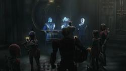 Shadow Collective & super commando meeting