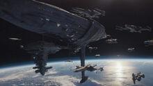 Rebel capital ship