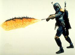 Boba flamethrower
