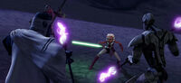 Ahsoka vs MagnaGuards