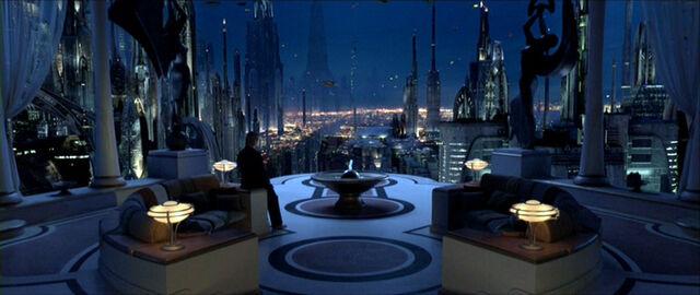 Archivo:Coruscant vistas desde la terraza de Padme.jpg