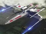Caza estelar XJ5 Ala-X