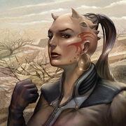 Female Zabrak avatar CotF