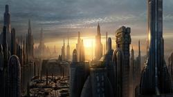 Coruscant landscape RotS