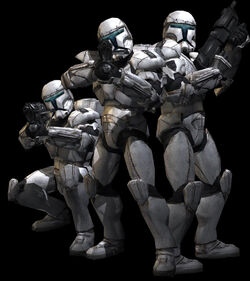 Squad Of Clone Commandos