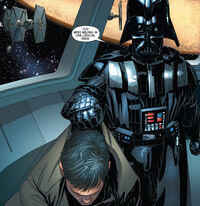 Vader turns in oon-ai