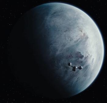 Planeta helado no identificado