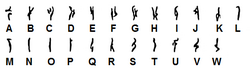 Geonosian alphabet