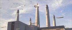 Coruscant-Agujas del Templo Jedi