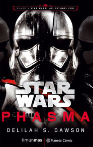 Phasma novel cover Spanish