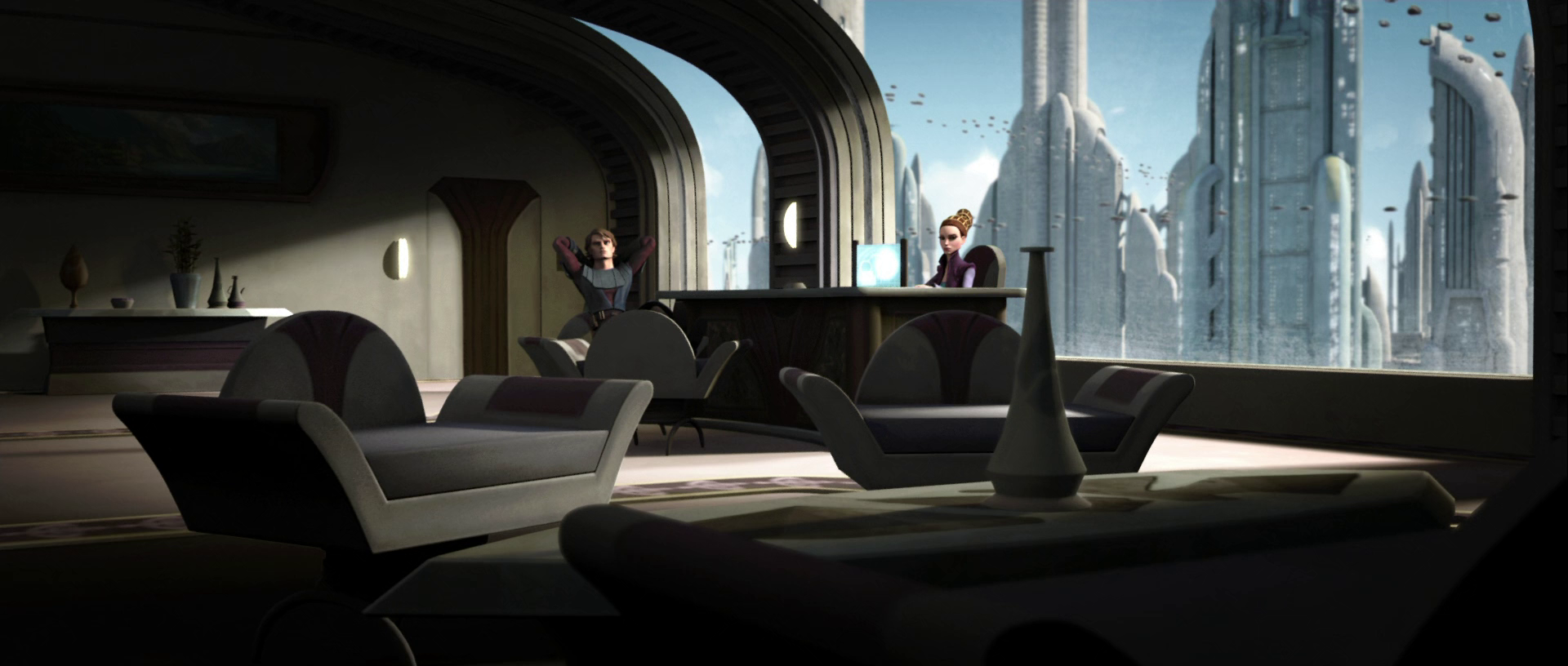 Amidala's office
