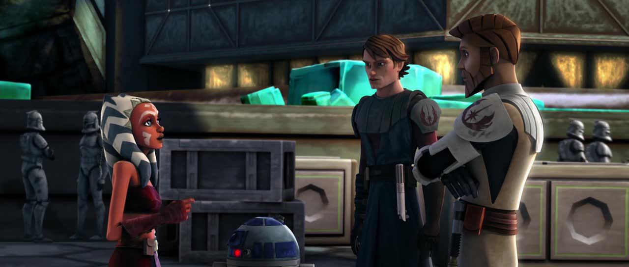 Imagen - R2-D2 Anakin and Obi-Wan meet Ahsoka.jpg | Star Wars Wiki ...