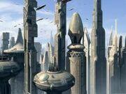 Coruscant view EII 2