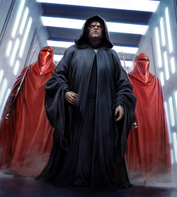 Emperor Sidious Guards SWTDS