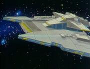 Screed's starship