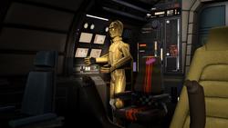 C-3PO contacts Agent Kallus